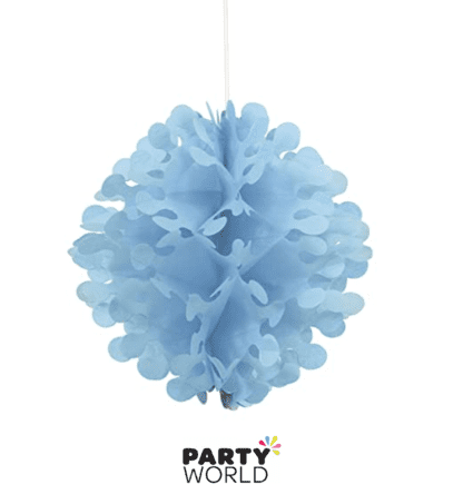 light blue flutter ball