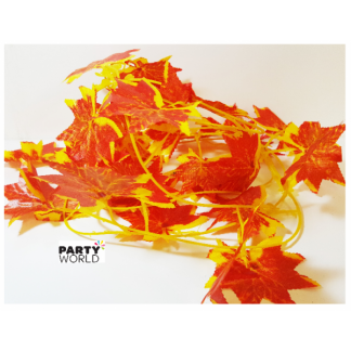 Artificial Autumn/Fall Leaf Garland