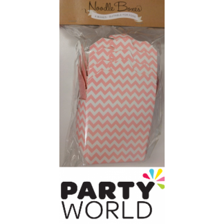 Noodle Box Pink & White Chevron (4)