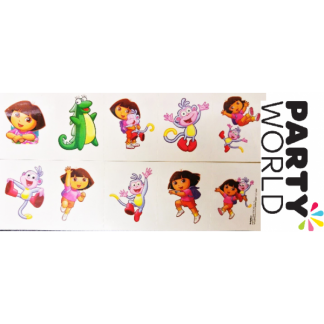 Temporary Tattoo Dora The Explorer (10)