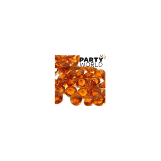 Amber Diamond Shape Table Scatters - 8mm (50)