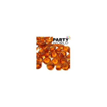 Amber Brown Diamond Table Scatters - 1cm (200)