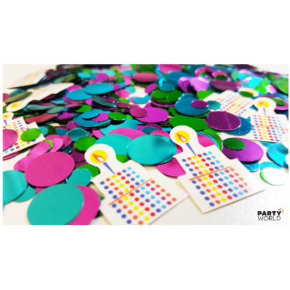 Let's Have A Party Printed Confetti