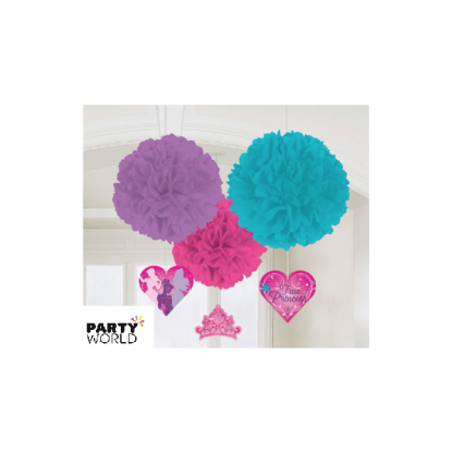 Disney Princess Deluxe Fluffy Decorations 16in (3)