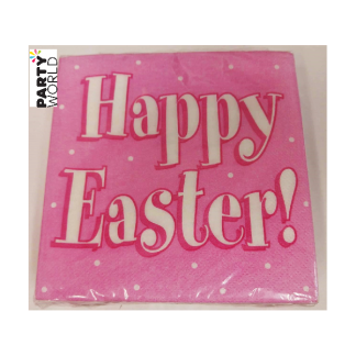 Happy Easter Beverage Napkins (36)