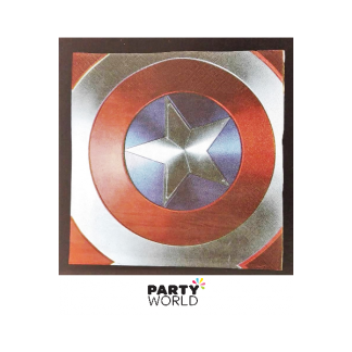 Captain America Luncheon Napkins (16)