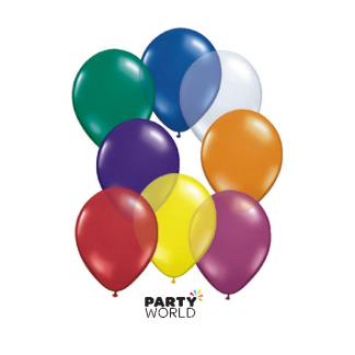 Bulk Decorator 30cm Assorted Colours Balloons (100)