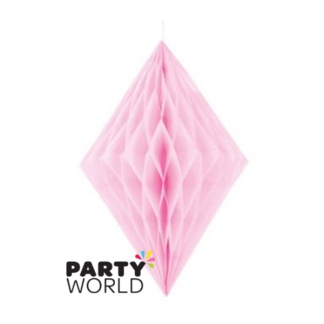 Lovely Pink Diamond Paper Decoration (14inch)