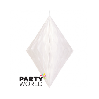 White Diamond Paper Decoration (14inch)