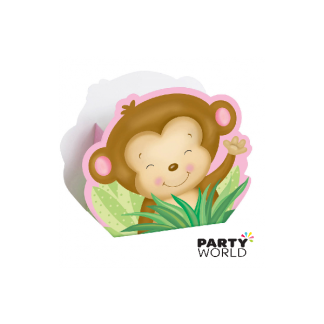 Monkey Favor Boxes - Girl (8)