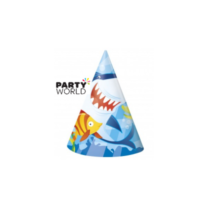 Fin Friends Party Hats (8)