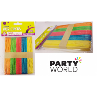 Crafty Pop-Sticks (40)
