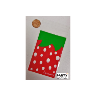 Small Strawberry Gift Bags (10)