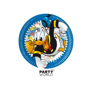 Donald Duck Paper Plates 9in (8)