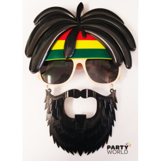 Jamaican Costume Party Glasses