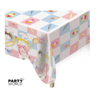Little Cooks Plastic Tablecover