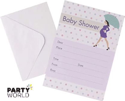 showered with love invites
