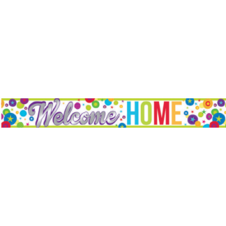 Welcome Home Foil Banner (180cm)