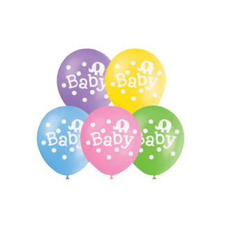 Baby Balloons Assorted (10)