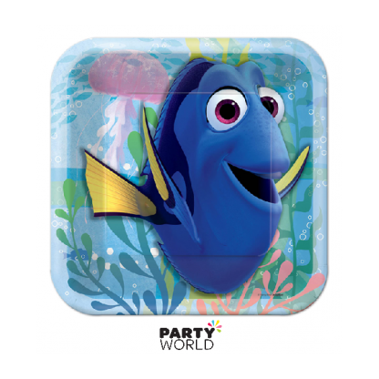 Finding Dory Square Plates 7in (8)