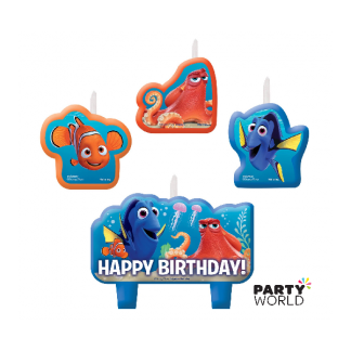 Finding Dory Birthday Candle Set (4)