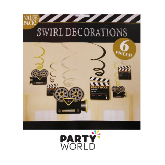 Hollywood Movie Swirl Decoration (6)