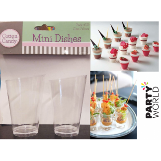 Mini Cone Dishes (10)