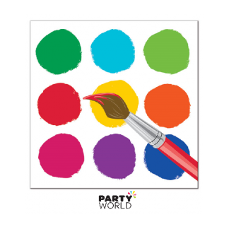 Paint Party Beverage Napkins (16)