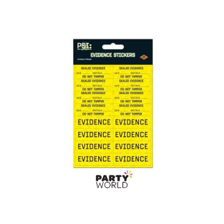 Party Scene Investigation: Evidence Sticker Sheets (4)