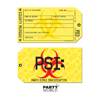 Party Scene Investigation Invitations (8)