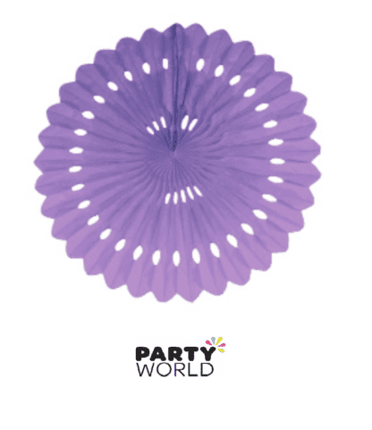 lavender party fan