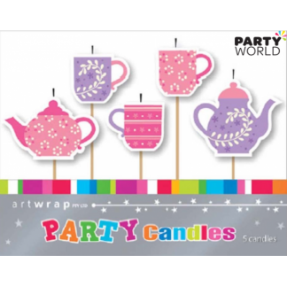 Tea Party Candles (5)