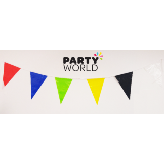Bunting Flag Banner Assorted 5m