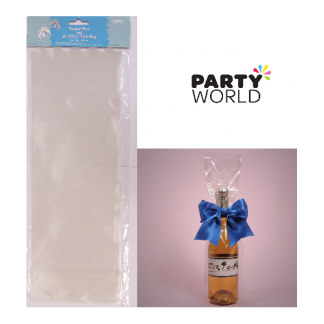 Clear Cello Bag 40 x 14.5 + 8.8 cm (12)