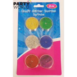 Craft Glitter Bottles 2g (6)
