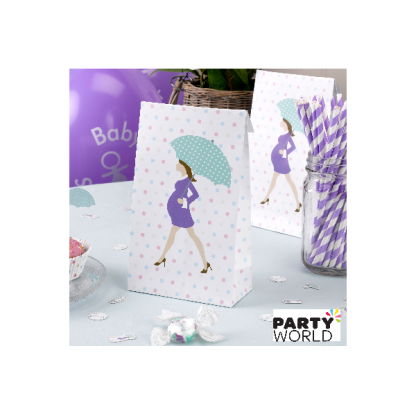 Showered With Love Paper Party Bags (5)