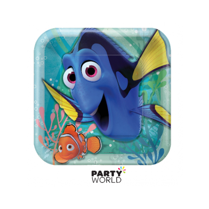 Finding Dory Square Plates 9in (8)