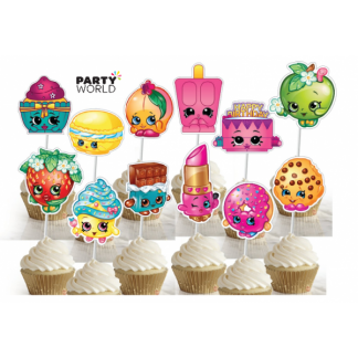 Shopkins Cake Toppers (12)