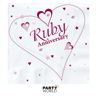 40th Ruby Anniversary Luncheon Napkin (18)