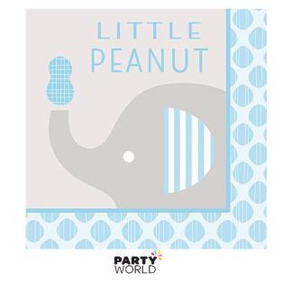 Little Peanut Boy Luncheon Napkins v.2 (16)