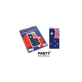 Australian Flag Plastic Door Cover