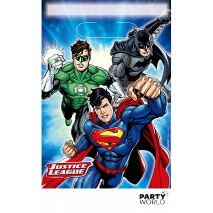 Justice League Loot Bags (8)