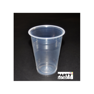 Clear Plastic Cups (10)