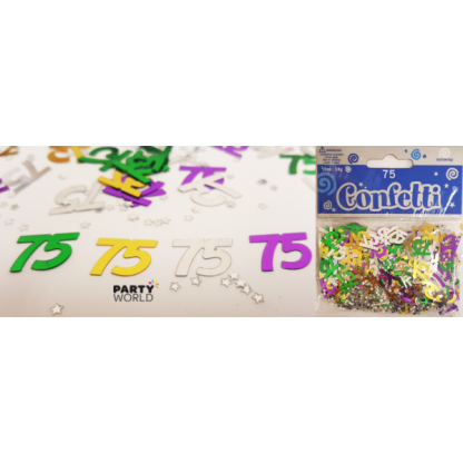 75th Metallic Confetti (14g)