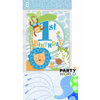 Safari 1st Birthday Invitations (8)