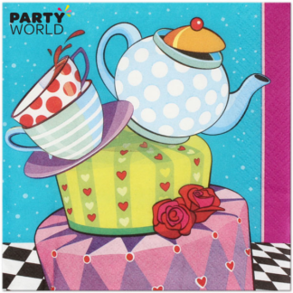 Mad Hatter Tea Party Luncheon Napkins (16)
