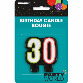 30th Birthday Cheer Candle
