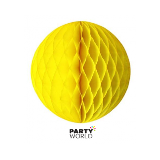 Honeycomb Ball 8in - Neon Yellow