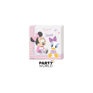 Baby Minnie Luncheon Napkins (20)