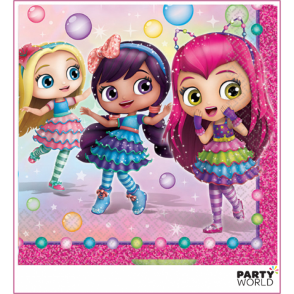 Little Charmers Luncheon Napkins (16)